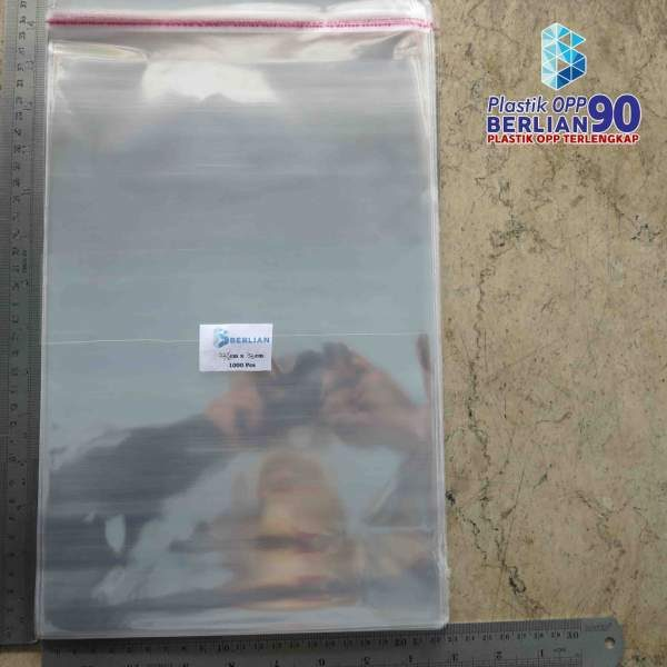 PLASTIK OPP EKONOMIS 22,5 X 33 CM