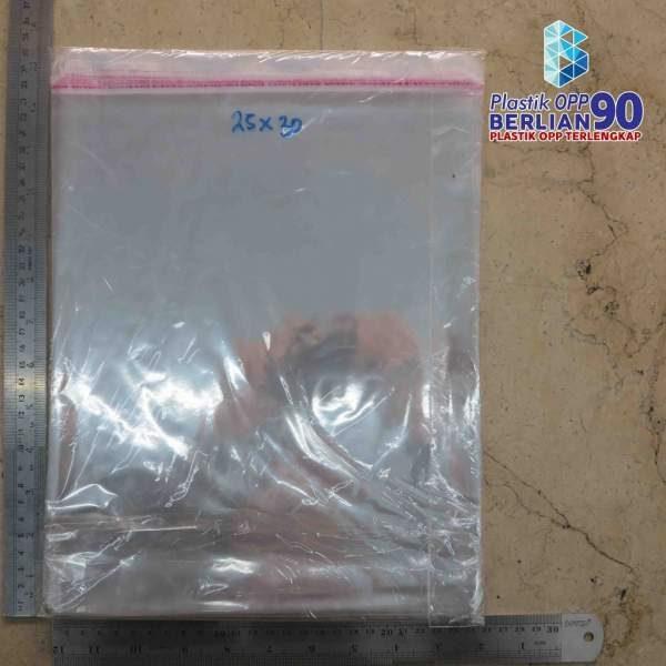 PLASTIK OPP EKONOMIS 25 X 30 CM / PLASTIK BAJU ANAK / PLASTIK GARMENT