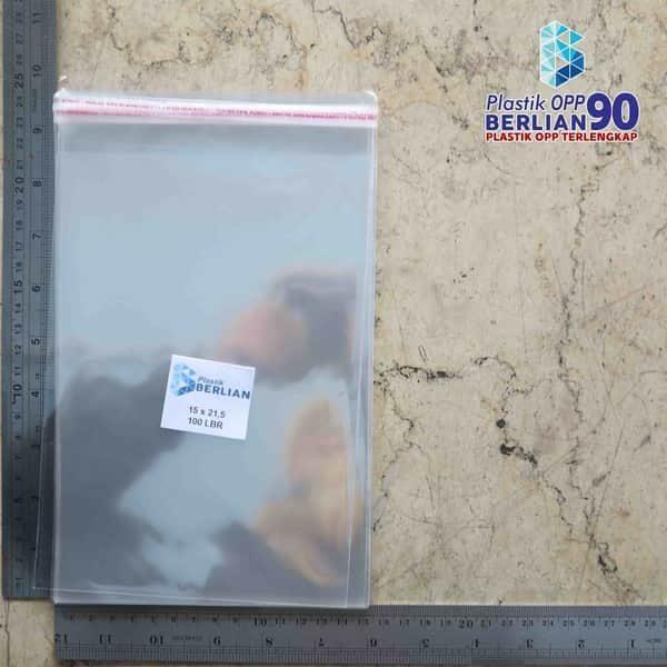 Plastik OPP 15 X 21,5 CM KW2 100LBR / PLASTIK BROSUR / PLASTIK A5 / PLASTIK SOUVENIR / UNDANGAN1