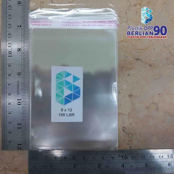 Plastik OPP 9 X 12 CM KW1 100LBR Lem Atau Seal / PLASTIK KUE / PLASTIK KUE DORAYAKI2