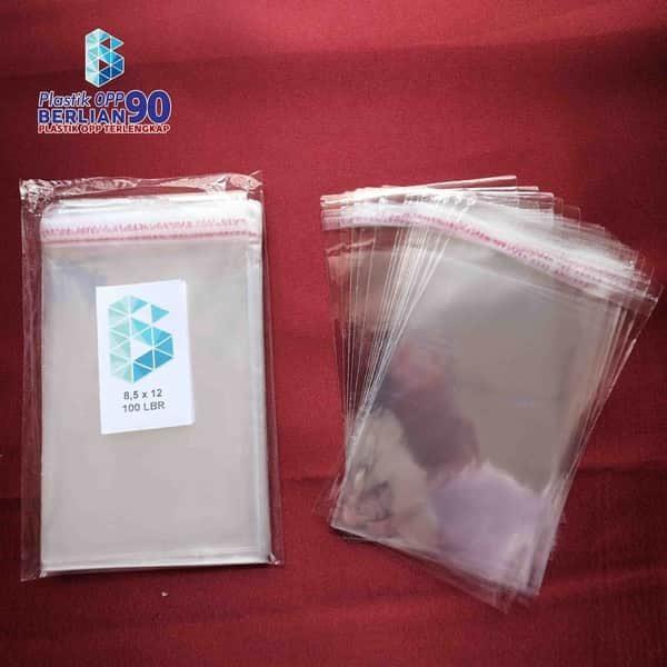 Plastik OPP 8,5 X 12 CM KW1 100LBR Lem Atau Seal2