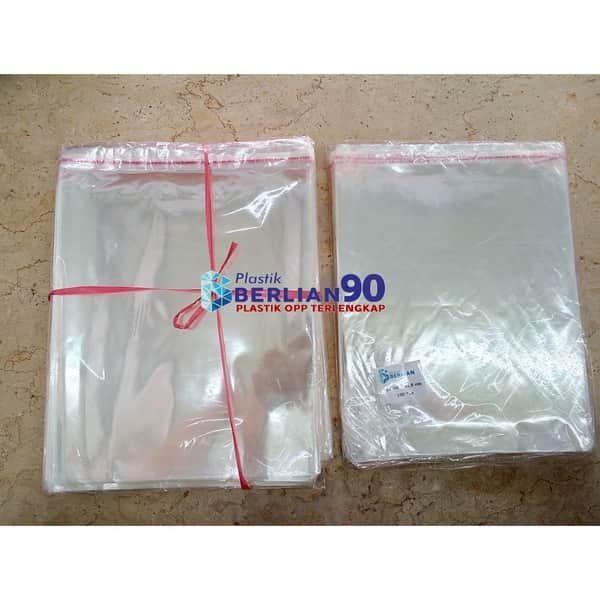 Plastik OPP 15 X 21,5 CM KW2 100LBR / PLASTIK BROSUR / PLASTIK A5 / PLASTIK SOUVENIR / UNDANGAN2